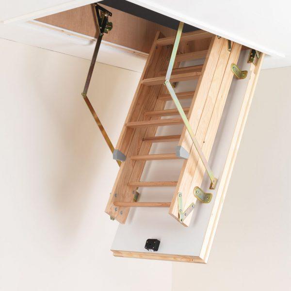 Informazioni sulle scale retrattili in legno modelli for Prezzi mansarde