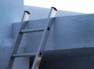 Scala in alluminio per soppalco