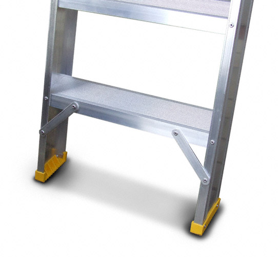 Scala in alluminio con gradini 8.5cm